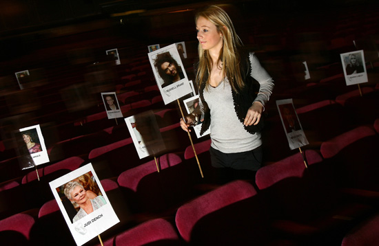 Preparations for 2008 BAFTA Television Awards