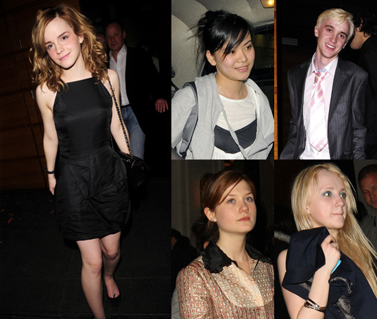 Emma Watson's 18th Birthday Party with Harry Potter co-stars Bonnie Wright,